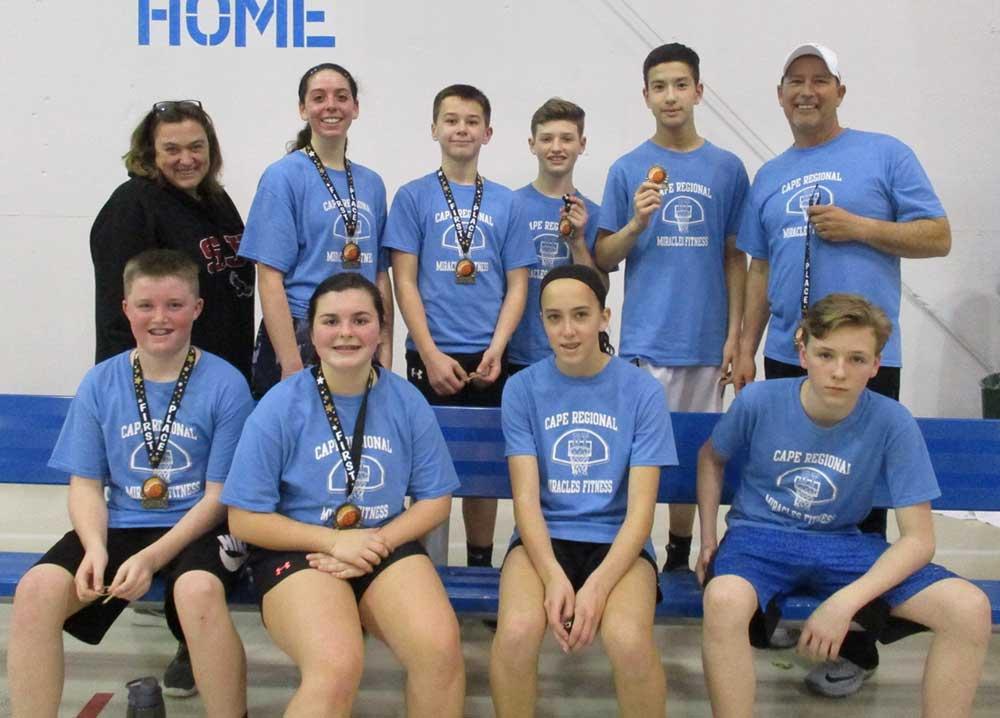 basketball team group photo