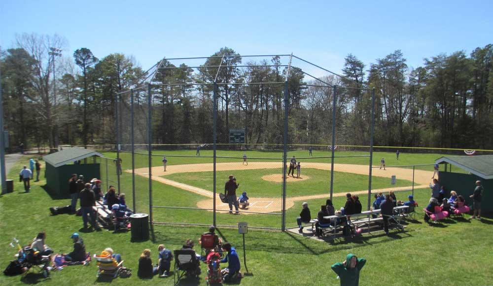 recreation ball field