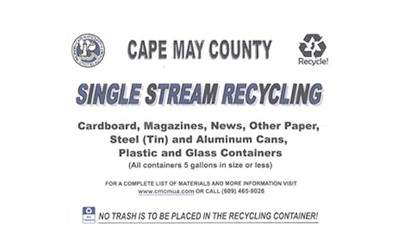 Cape May County Single Stream Recycling