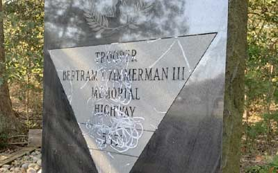 Featured image - Gravestone of Bertram Zimmerman