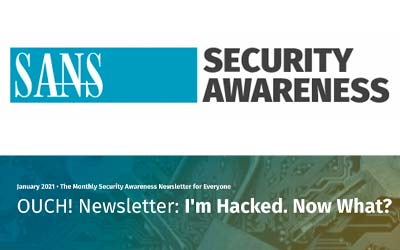 I'm Hacked. Now What?