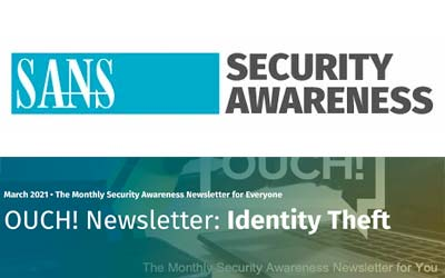 OUCH! Newsletter: Identity Theft