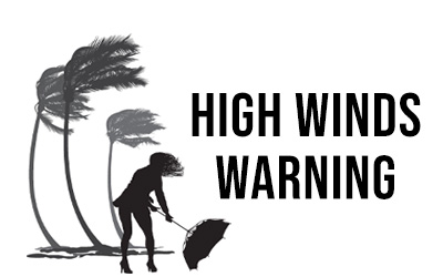 High Winds Friday Thru Friday Night