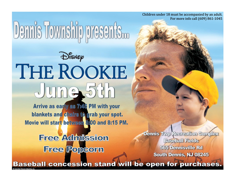 Dennis Twp Presents: The Rooie